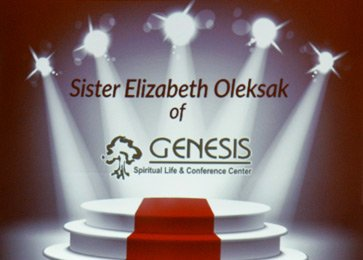 Sister Elizabeth Oleksak honored with Lifetime Achievement Award